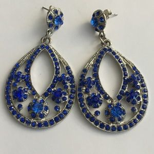 Jewelry - ⭐️ 3 for $10 - Blue drop earrings